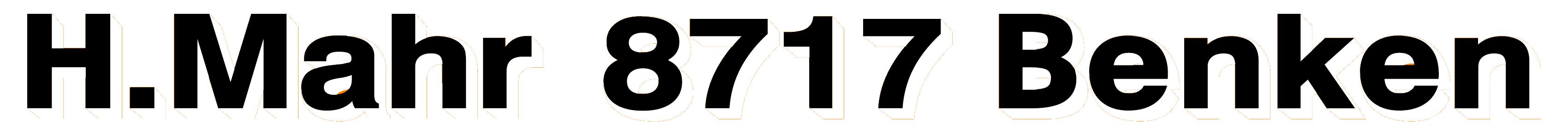 H. Mahr AG 8717 Benken Logo